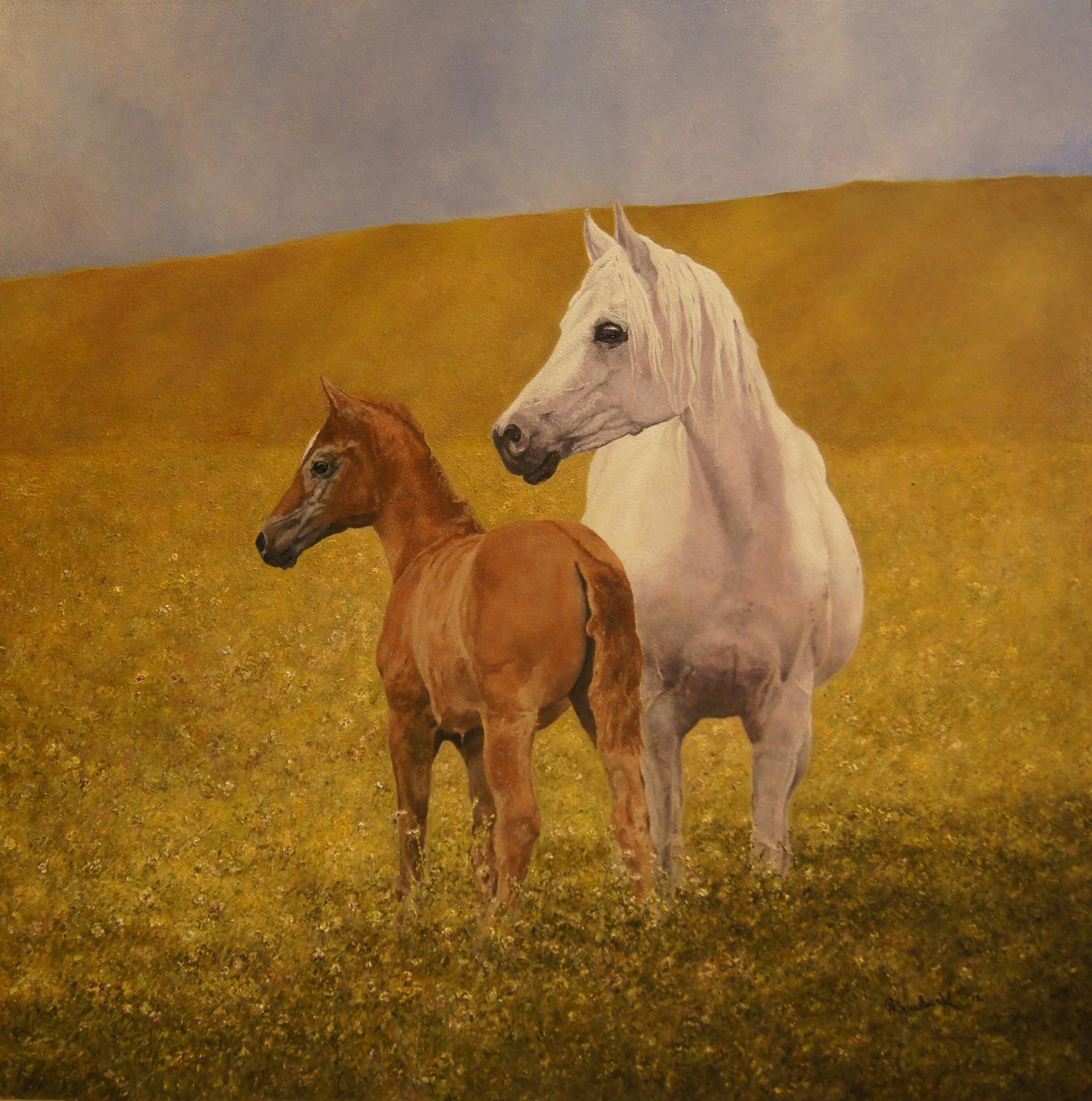 'Horse and Foal'