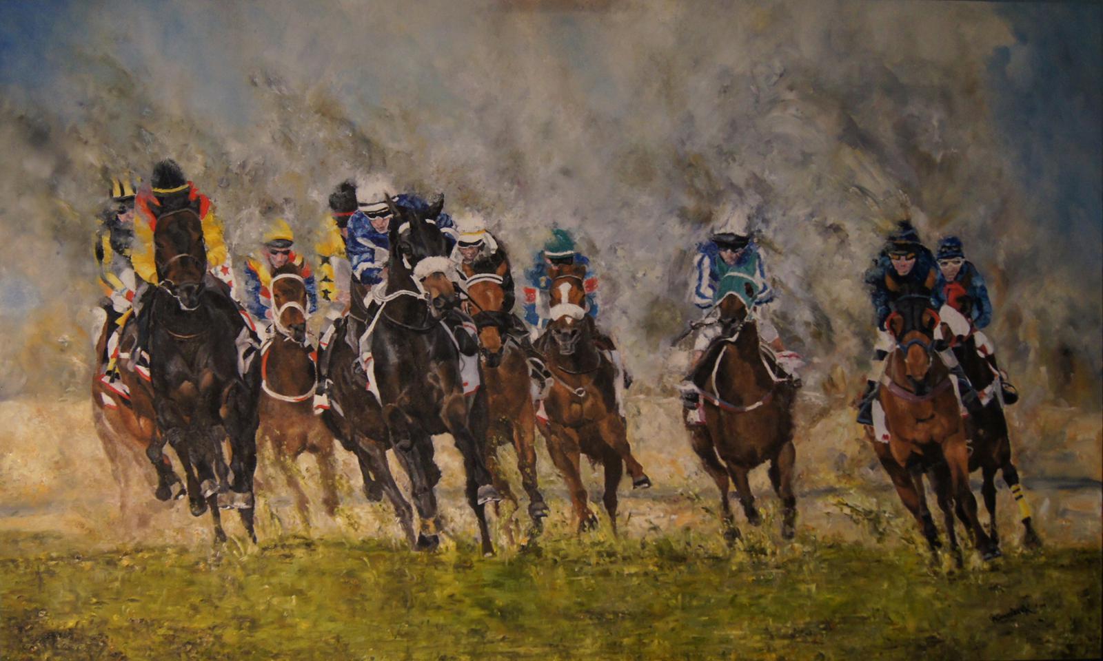 'Horseracing in Bahrain'