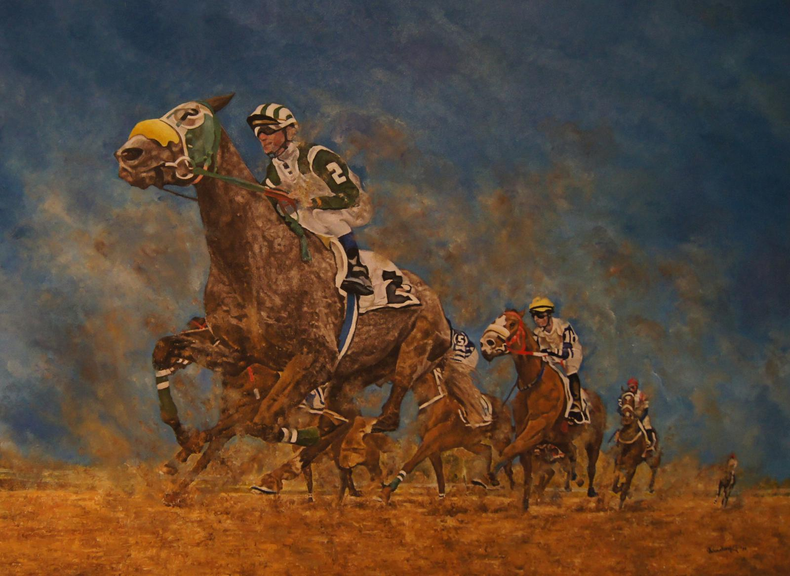 'Horseracing in Saudi Arabia'