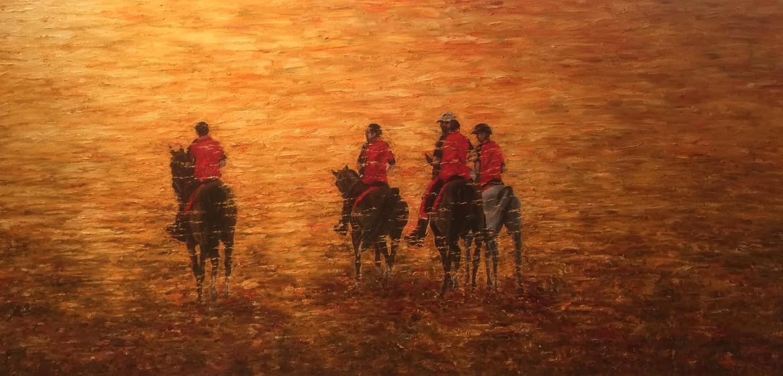 'Pure-bred Bahraini Arabian endurance Stallions'